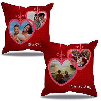 Almofada Personalizada Amor - Namorados com 4 fotos