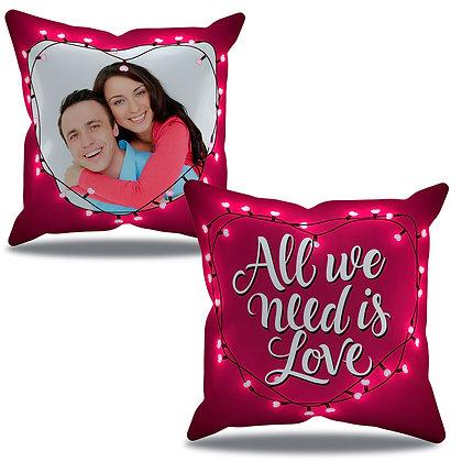 Almofada Personalizada Amor - All we need is love