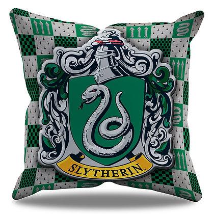 Almofada Personalizada Sonserina / Slytherin - Hogwarts - Harry Potter