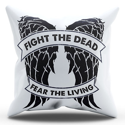 Almofada Personalizada The Walking Dead - Fight The Dead, Fear The Living