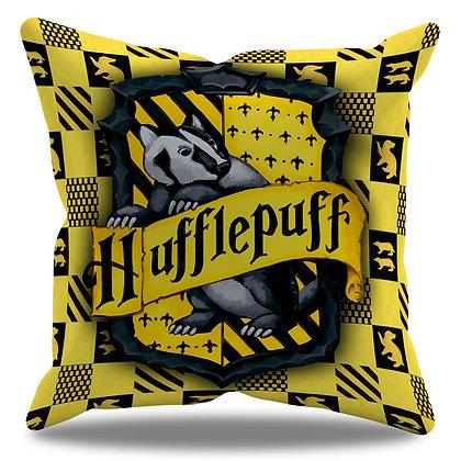 Almofada Personalizada Lufa-Lufa / Hufflepuff - Hogwarts - Harry Potter