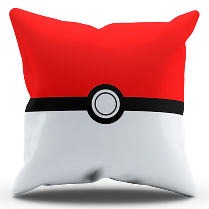 Almofada Personalizada Pokebola - Pokemon