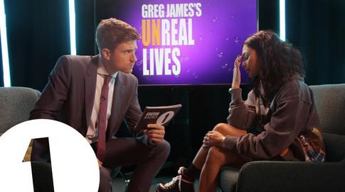 GREG JAMES'S UNREAL LIVES
