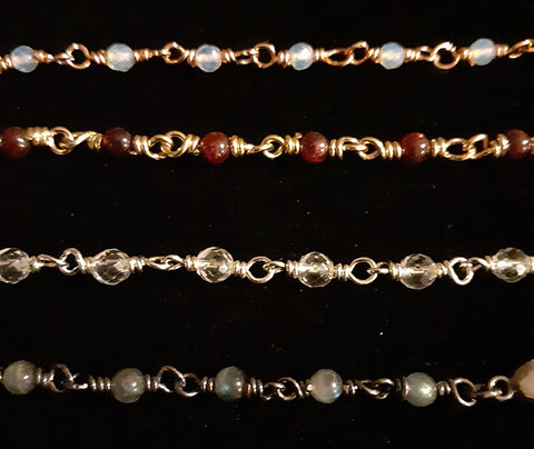 Thumb Splint Gemstone Chain Upgrades