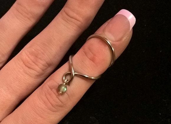 Swan Neck Charm Ring Splint