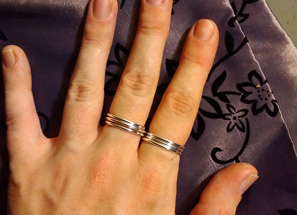 Buddy Ring in Sterling Silver