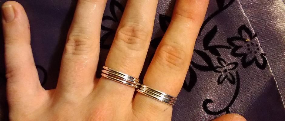 Buddy Ring in Sterling Silver