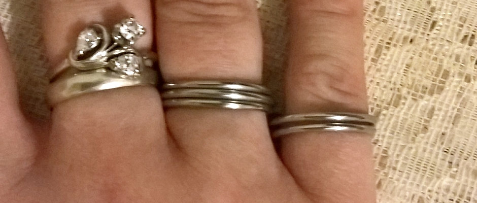 Buddy Ring in Stainless Steel