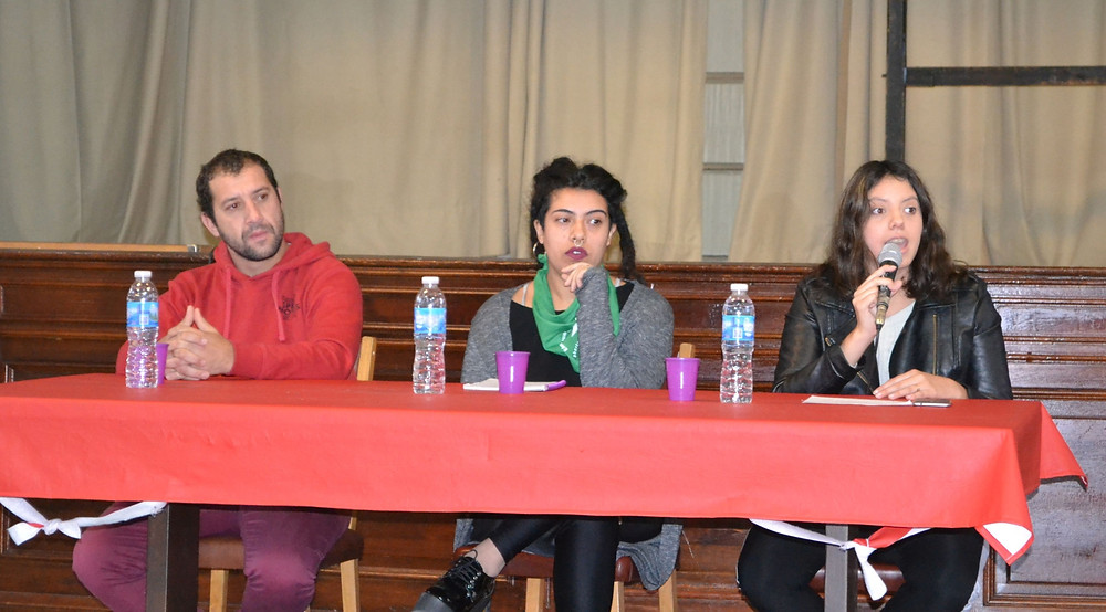 Rocío Pereyra, ex Presidenta del Centro de Estudiantes de la FACSO