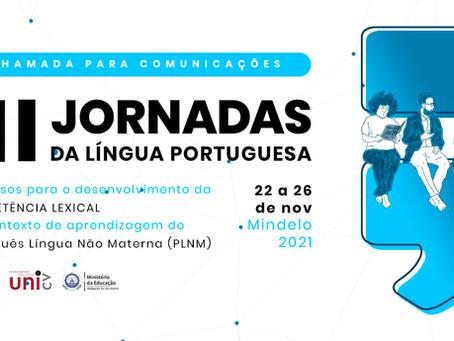 III JORNADAS DA LÍNGUA PORTUGUESA