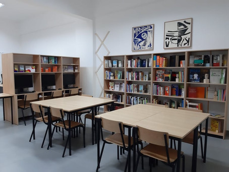 Acervo do CLP Mindelo na Biblioteca da UNICV