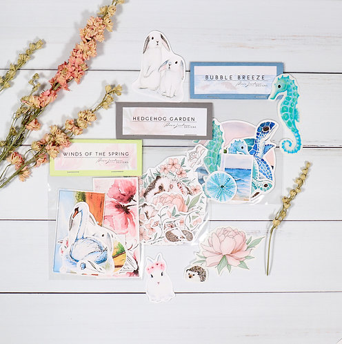 Spring Is Coming | 3-Sticker Bundle