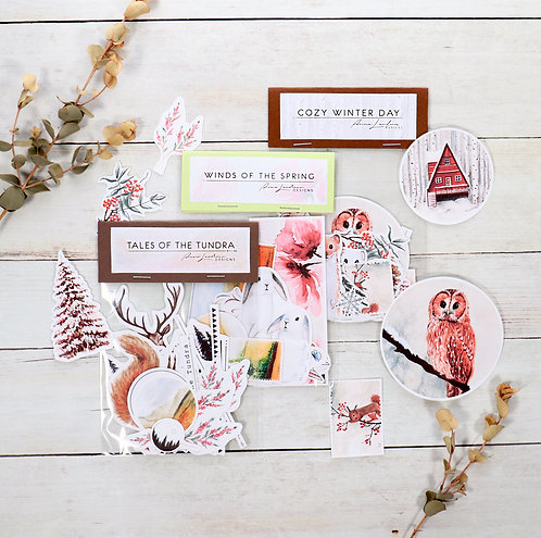 From Winter to Spring | 3-Sticker Bundle