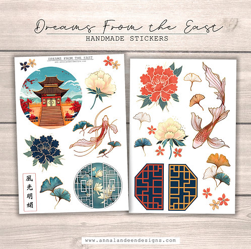 Dreams From The East Sticker Collection