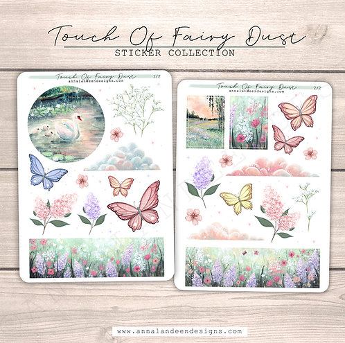 Touch Of Fairy Dust Sticker Collection