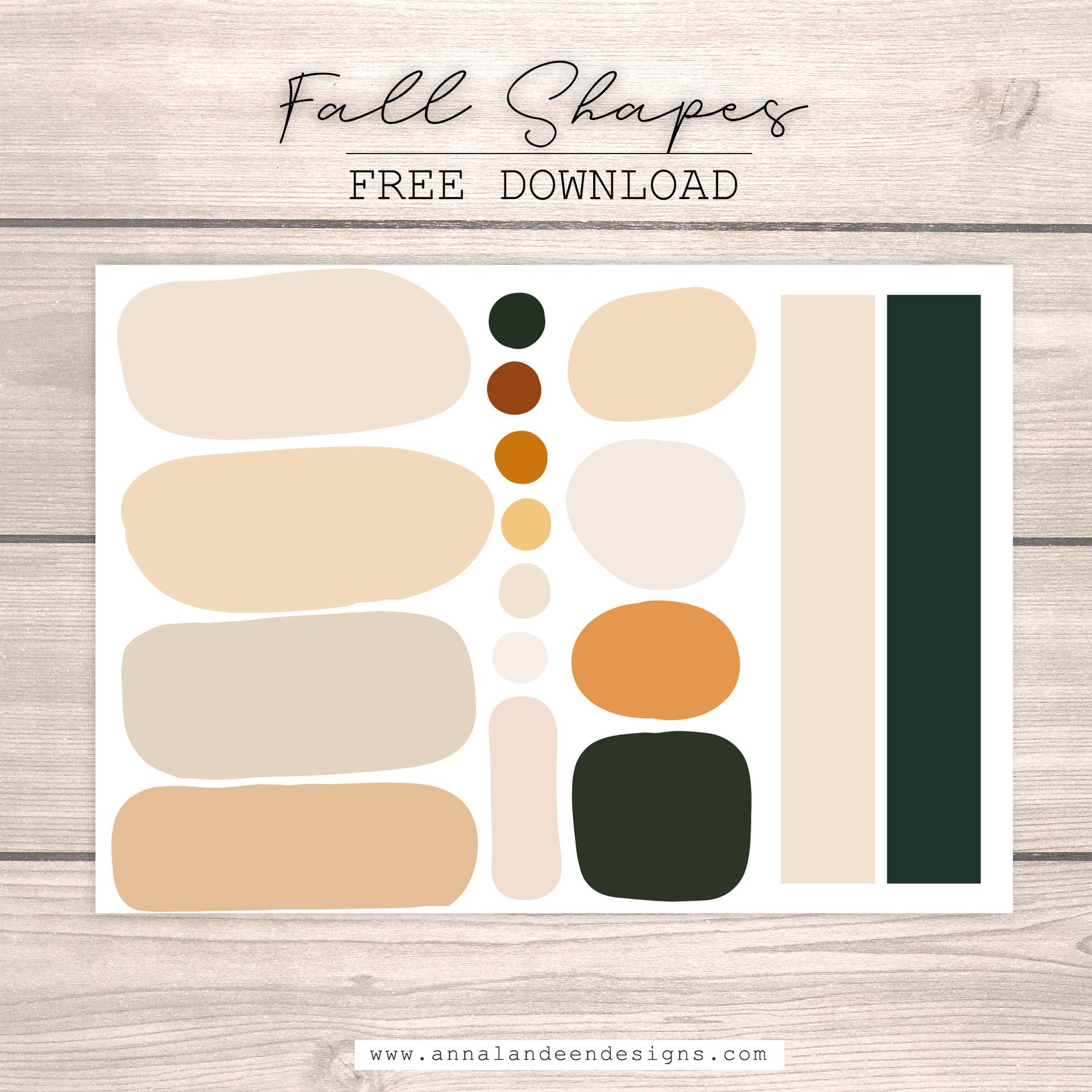 Fall Shapes 1