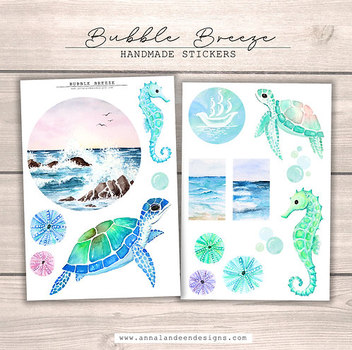 Bubble Breeze Sticker Collection