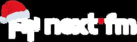 Next FM Logo überarbeitet weiß ohne XMAS