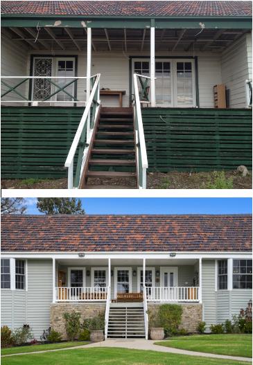 exterior renovation hamptons style