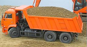 Вывоз грунта с участка после копки канализации глина вывоз камаз доставка
