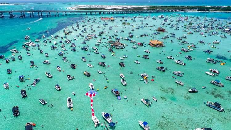 2hr Crab Island Trip