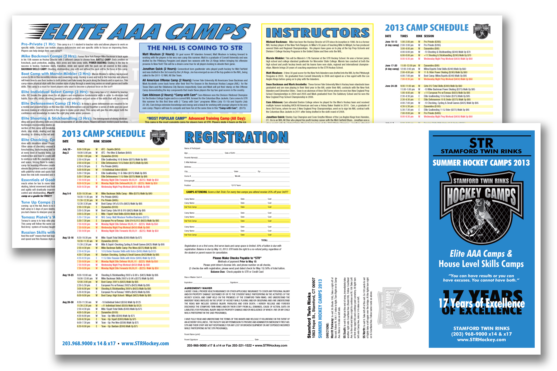 STR Hockey Camp Brochure