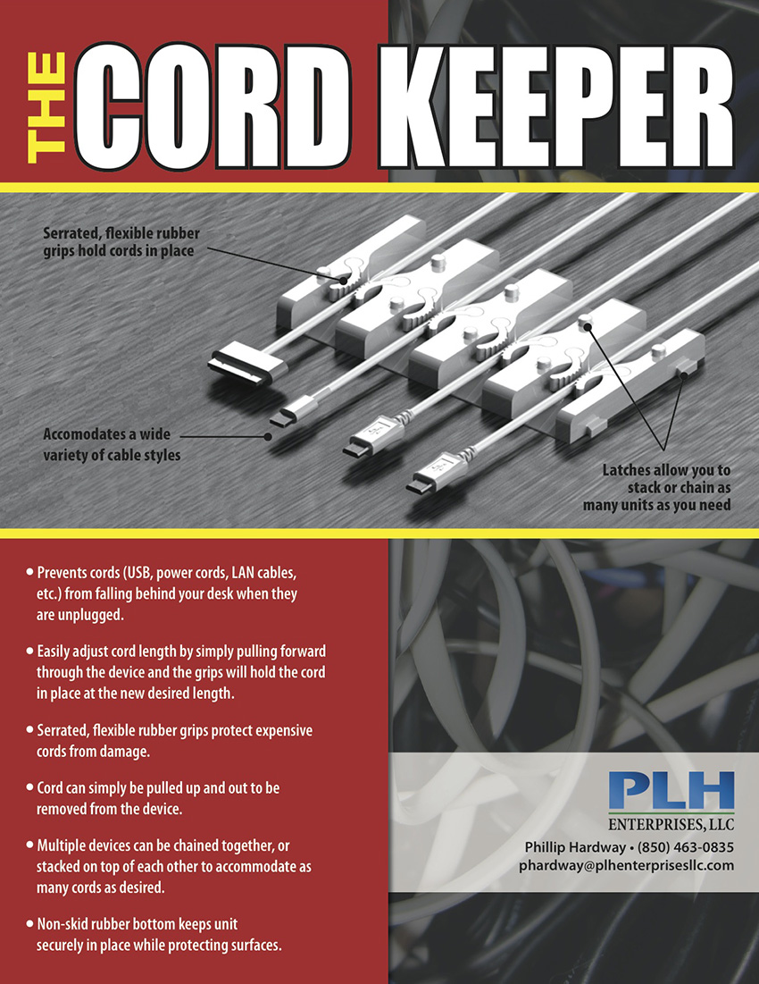 Cord Keeper Product Sell Sheet