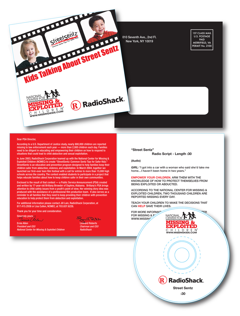 Radio Shack PSA Package