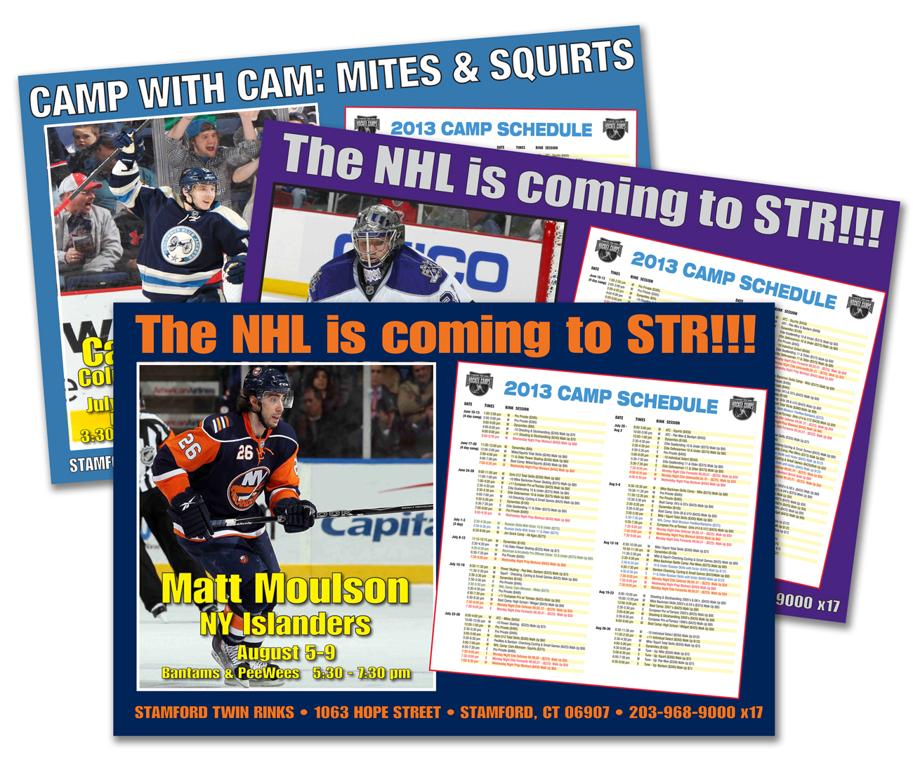 STR Hockey Camp Posters