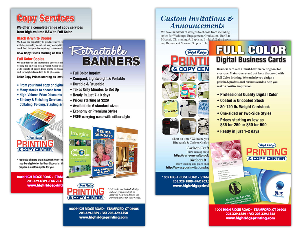 Rack Card Series