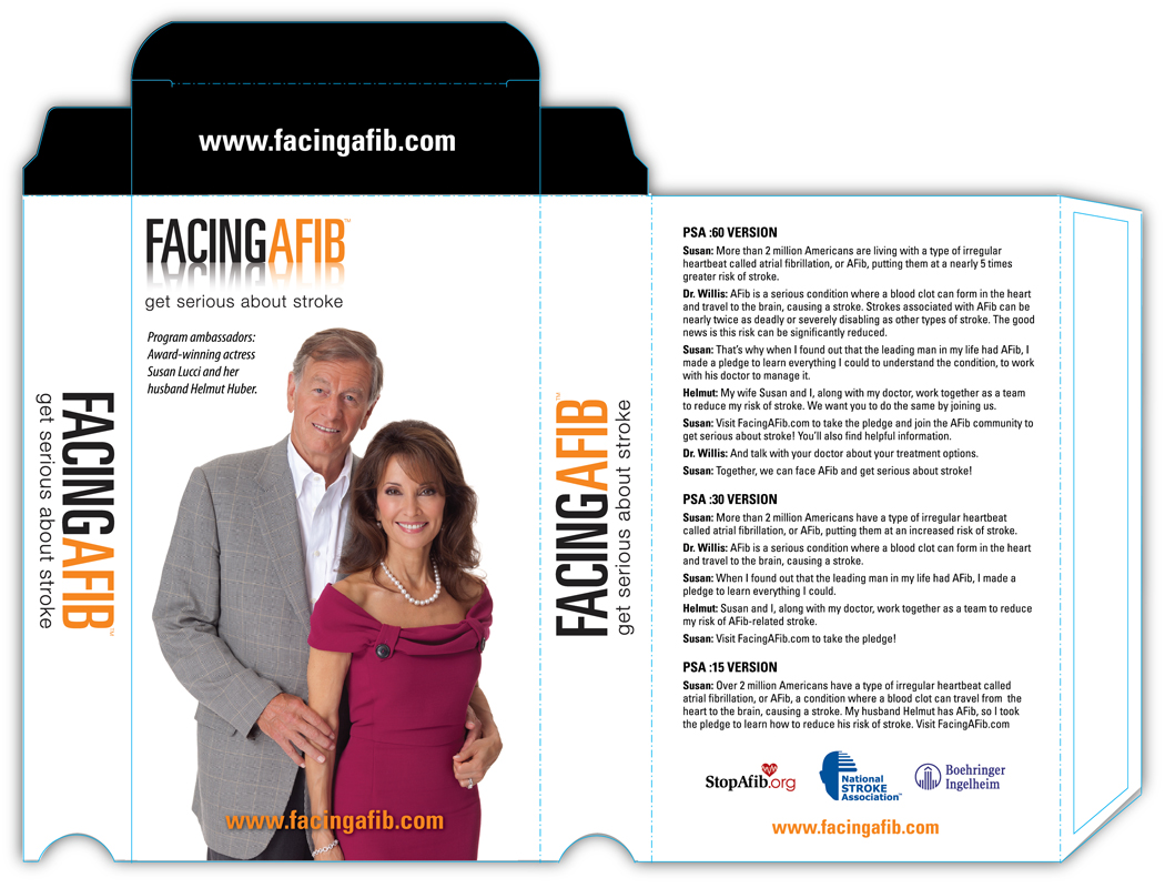 Facing AFib TV PSA Package
