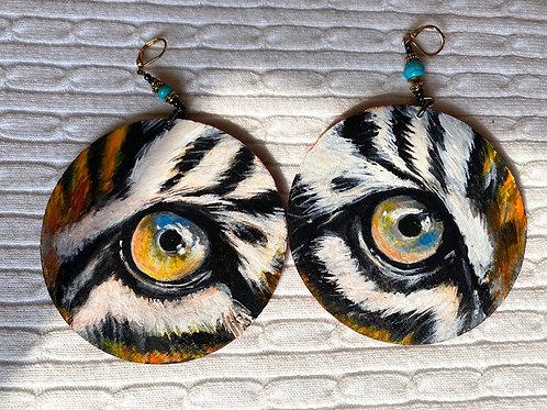 Bengal Large earrings