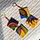 Thumbnail: Decorative Square Earrings