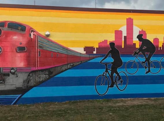 beerline trail mural