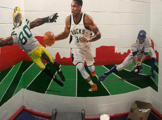 COA sports mural