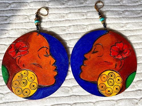 Regal Woman earrings