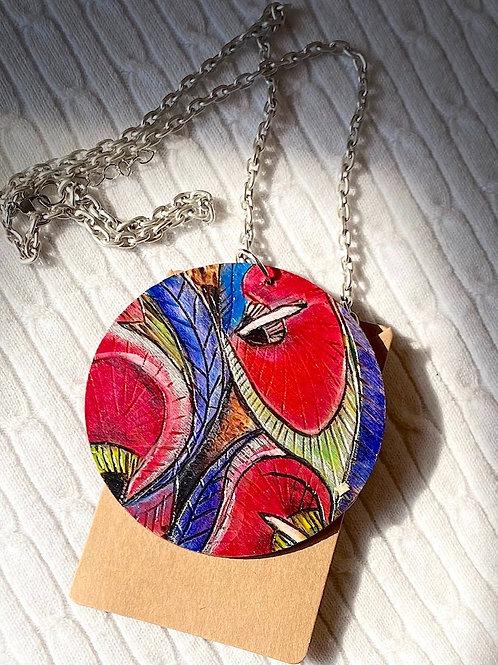 Lily Pattern Necklace