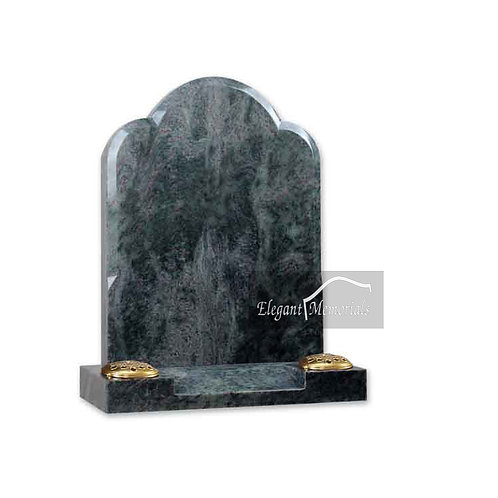 The Hertford Granite Headstone Tropical Green