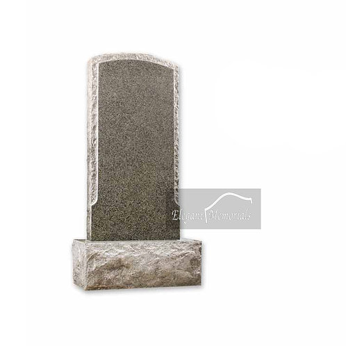 The Kilmore Granite Headstone South African Dark Grey