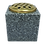 Thumbnail: Plain Premium Polished Granite Flower Vase