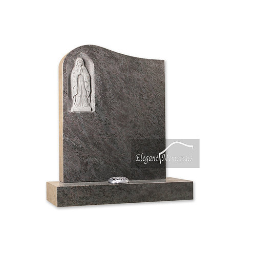 The Southsea Granite Headstone Bahama Blue