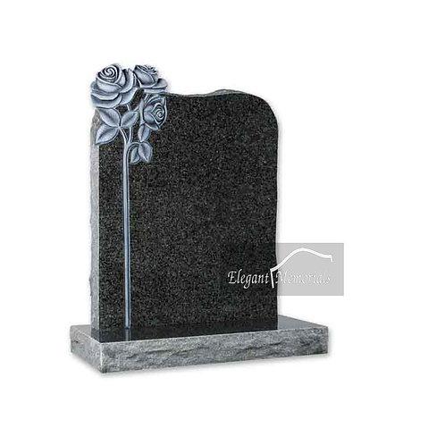 The Darlington Granite Headstone South African Grey