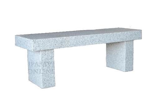 Sudhalli Grey Granite Bench Side Grave Memorial