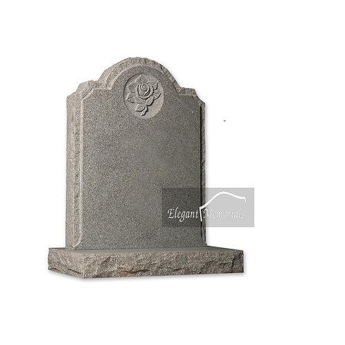 The Rothwell Granite Headstone Surf Grey