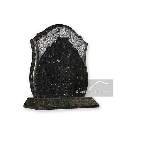 The Combe Granite Headstone Emerald Pearl