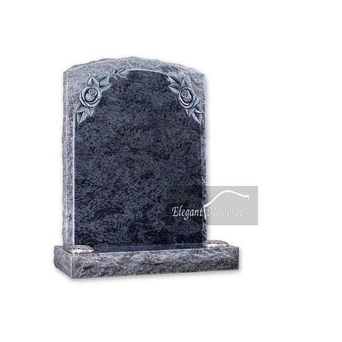 The Otley Granite Headstone Bahama Blue
