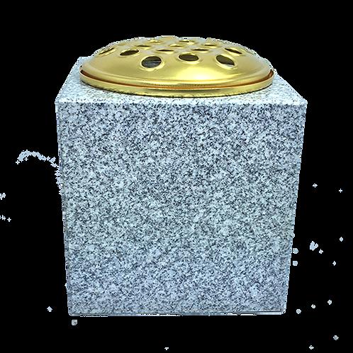 Suddhalli Grey  Premium Polished Granite Flower Vase