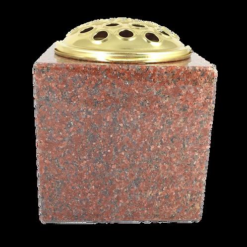 Ruby Red Premium Polished Granite Flower Vase