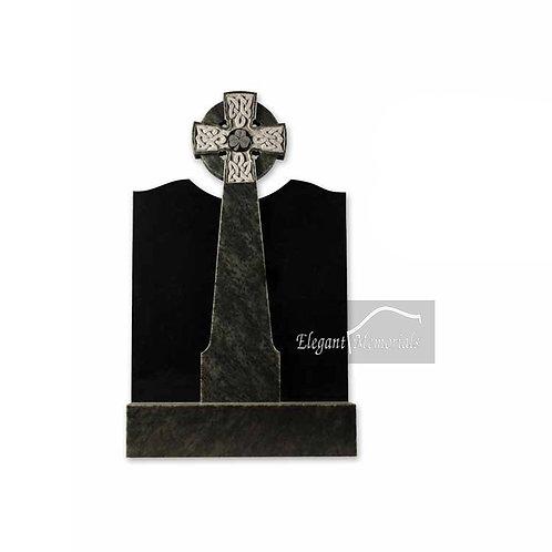The Longford Granite Headstone Black