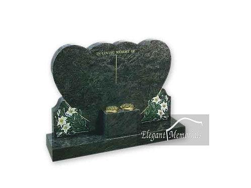 The Warwick Granite Headstone Tropical Green